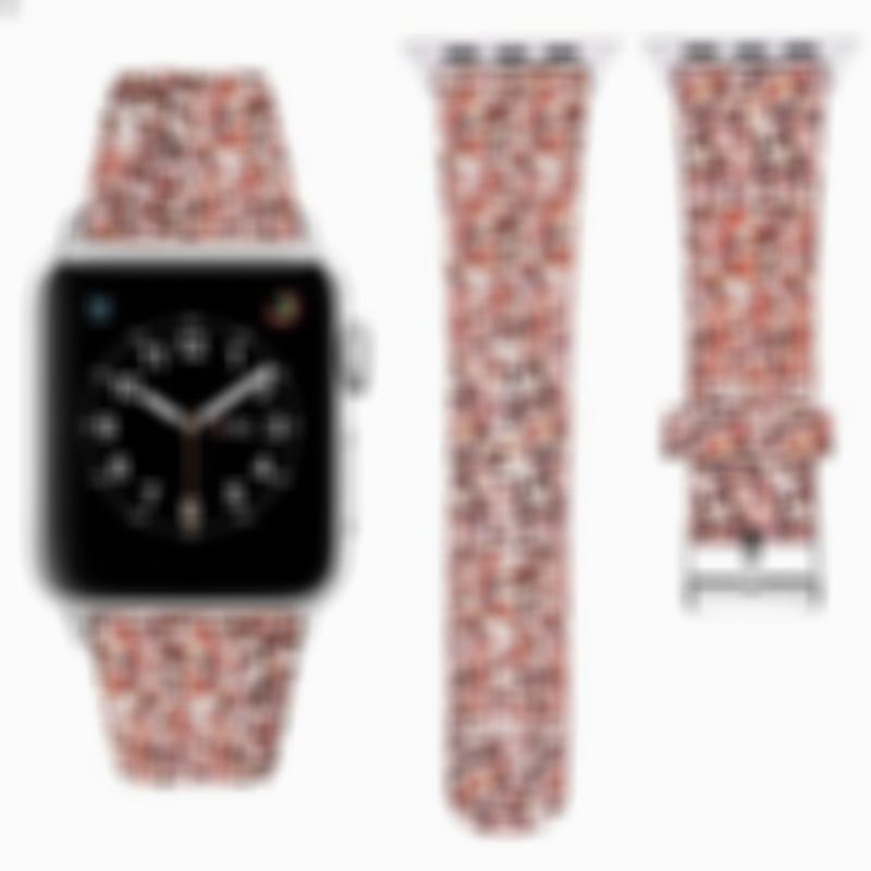 Bling Bling Leather Lady Apple Watch Band Replacement