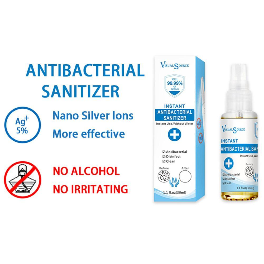 Instant Antibacterial Hand Sanitizer Spray Disinfectant Hand Spray Alcohol-free