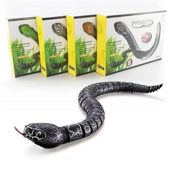 Buy 2 free shipping-Remote Control Snake Toy