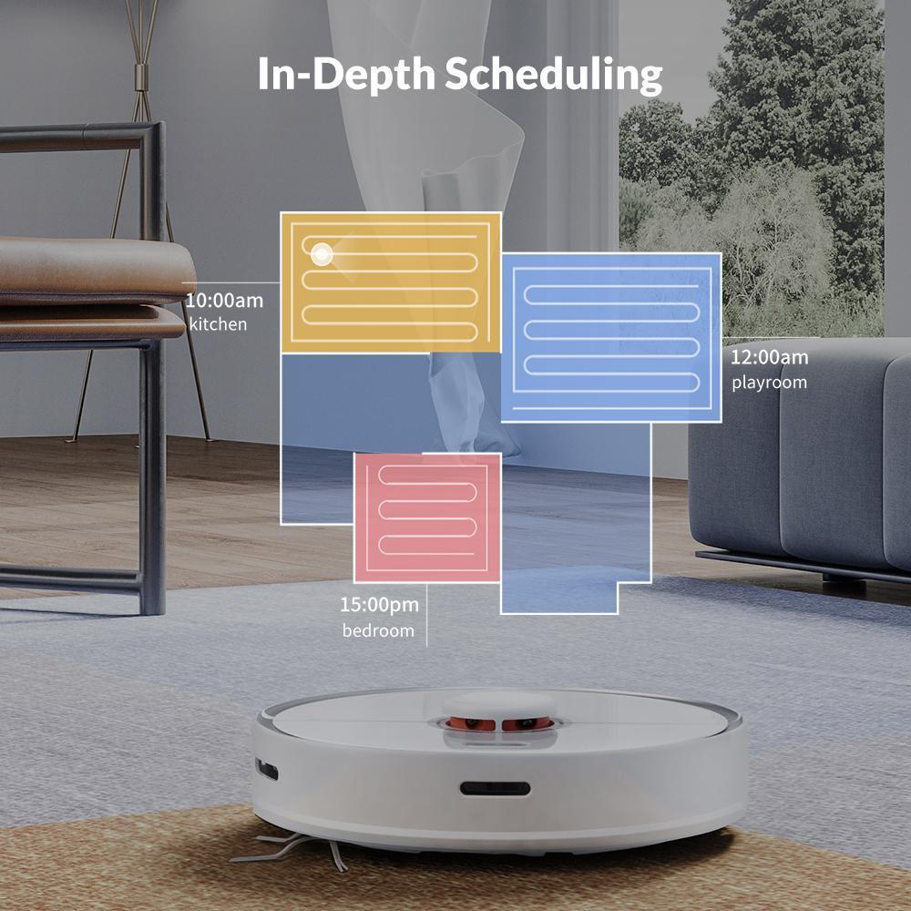 ES300 All-in-one Robot for Sweeping, Mopping and Vacuuming