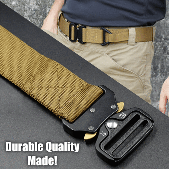 Tactical Belt,Military Style Webbing Riggers Web Belt-BUY 2 FREE SHIPPING