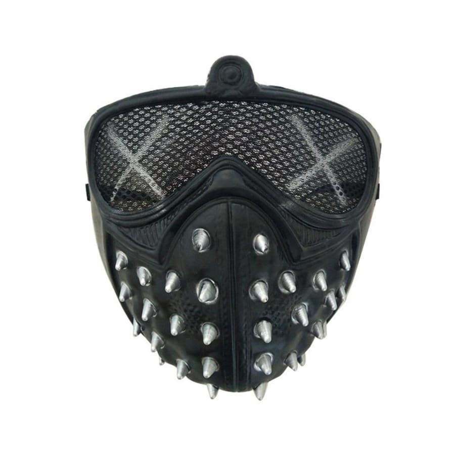 Halloween Punk Devil Cosplay Anime Stage Mask Ghost Steps Street Masquerade Death Masks Watch Dogs Rivet Party Face Masks RE