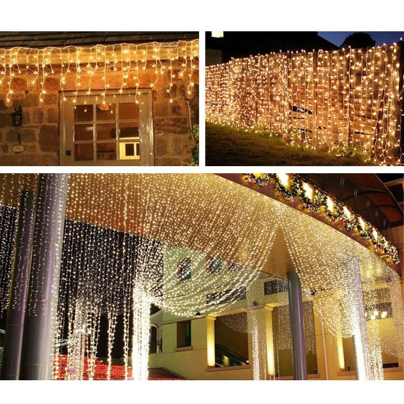 1m/3m/5m/10m Warm White LED String Lights for Xmas Garland Party Wedding Decoration Christmas Tree Flasher Fairy Lights