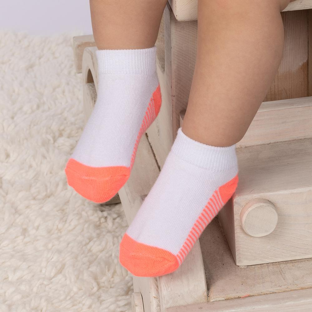 Fruit of the Loom Low Cut Sock, 20-Pack (Toddler Girls & Baby Girls)
