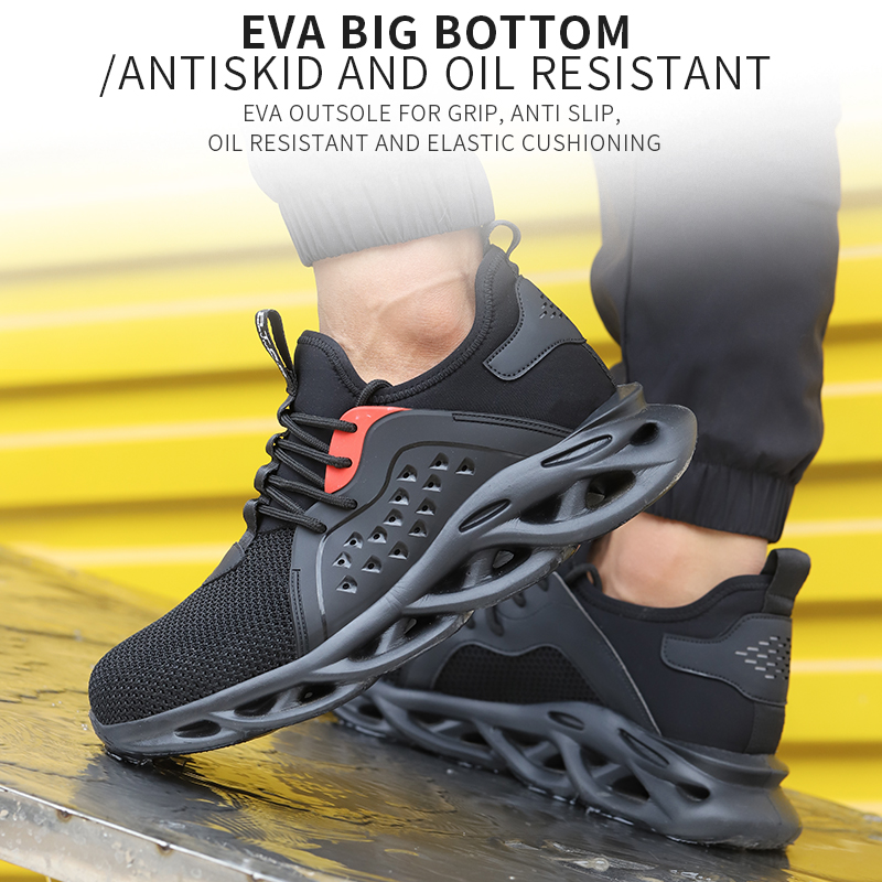 Breathable Lightweight Safety Work Shoes