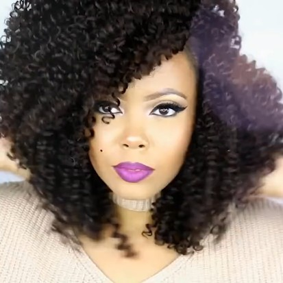 Special OFF | Afro Curly Natural Wig, Best Wig Ever Type Hair