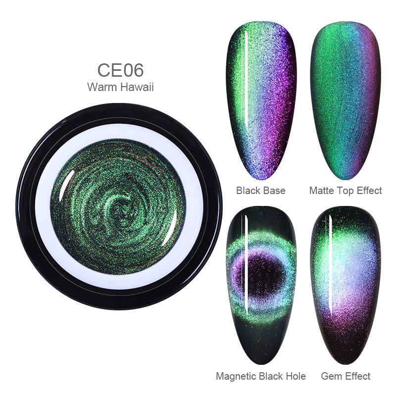 70% OFF-BORN PRETTY™ Holographic Magnetic Cat Eye Nailpolish