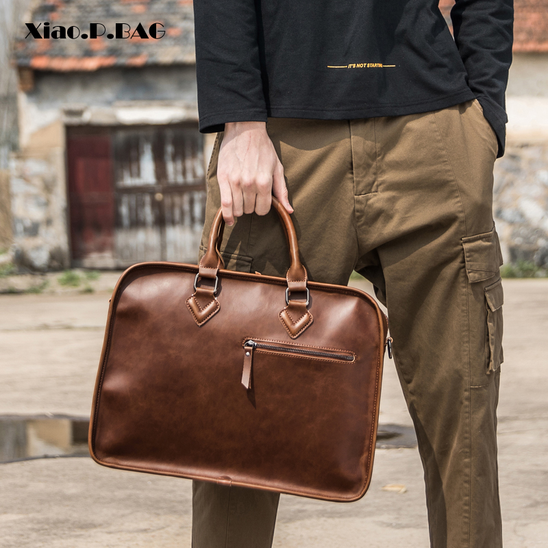 Fashion Vintage Briefcase Handbag 2104D