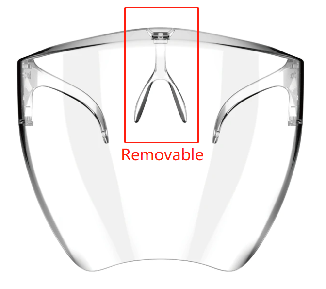 2020 NEW Face Shield Designed For Style & Comfort