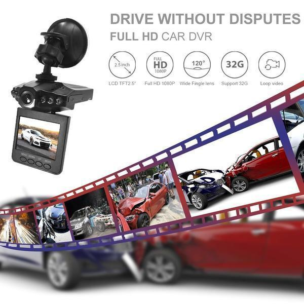 🎥Holiday Promotion 📸 HD & Wide Angle Driving Recorder-Buy2Get Extra15%OFF&Free Shipping
