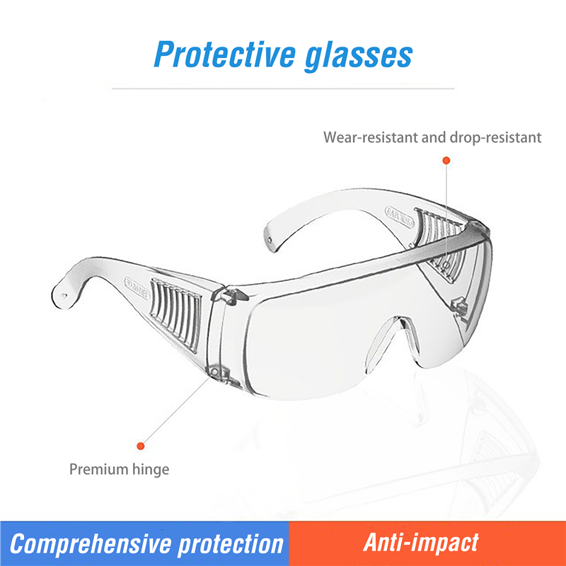 Vooknu Clear Safety Glasses All-inclusive With Anti-Fog Lens