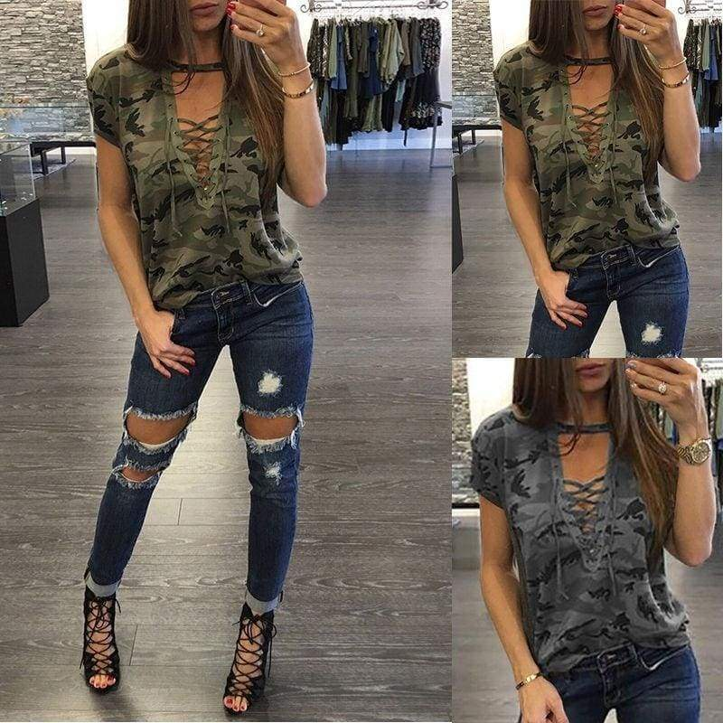 Fashion Women's Lady Summer Short Sleeve Loose Blouse Casual Shirt Tops T-Shirt