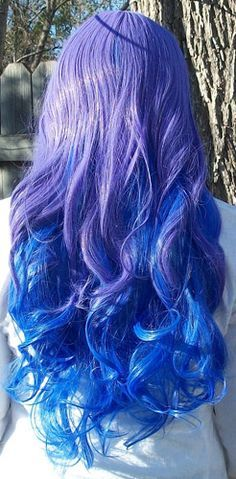 Blue Wigs Lace Frontal Wigs Cheap Human Wigs Blonde With Blue Highlights Red Purple And Blue Hair Blue And Purple Short Hair