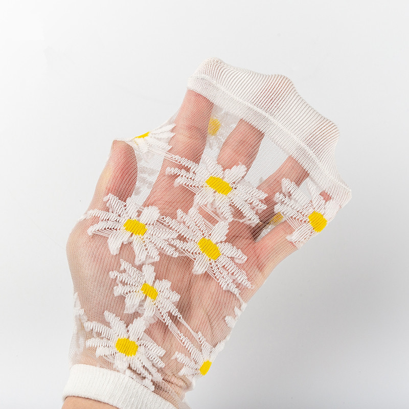 🔥Mother's Day Special🔥NOW 50% OFF🔥Translucent Daisy Socks