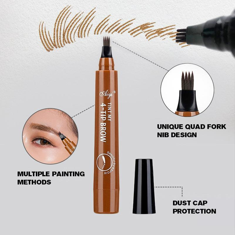 4-Tip Liquid Eyebrow Pencil-Buy 2 get 1 free (add 3 to cart)