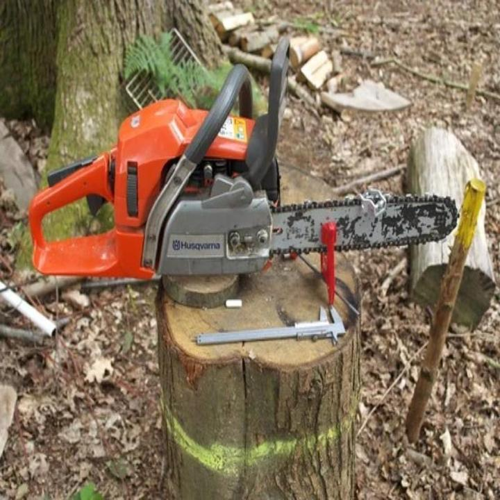Chainsaw Stump Vise