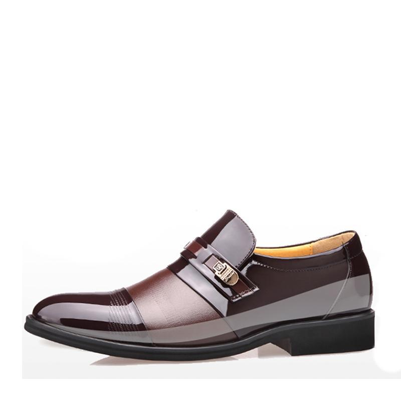 2019 New Business Style Leather Shoes