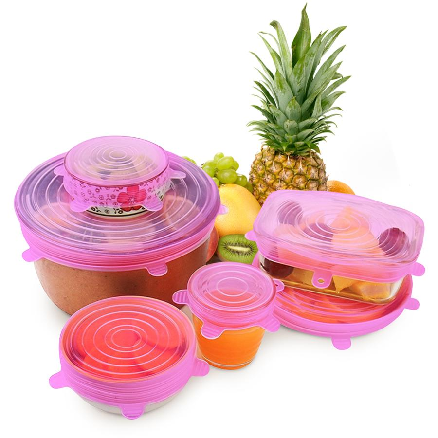 【50% OFF TODAY】💧Universal Silicone Stretch Lids - 6pcs