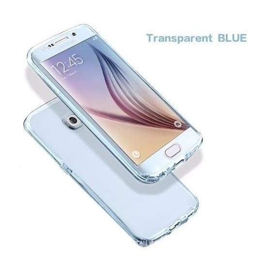 For Samsung Galaxy J1 J2 J3 J5 J7 A3 A5 A7 2016 2017 Case 2 in 1 Front Back 360 Full Protective TPU Case For Samsung S3 S4 S5 S6 S6 Edge S7 Edge S8 S8 Plus Smart Touch Case