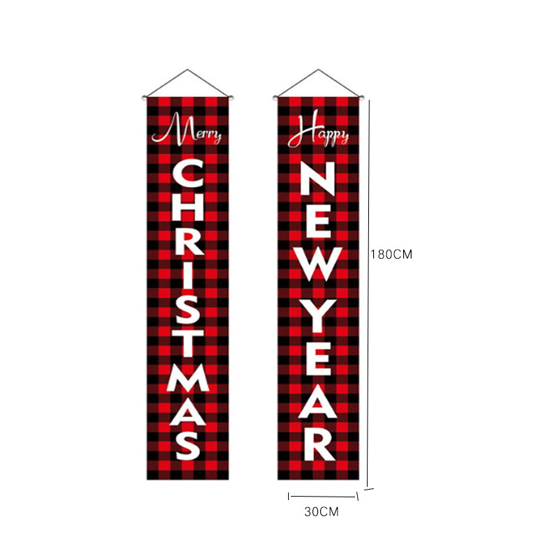 Christmas Sale! Porch Banner Decoration | Christmas & New Year