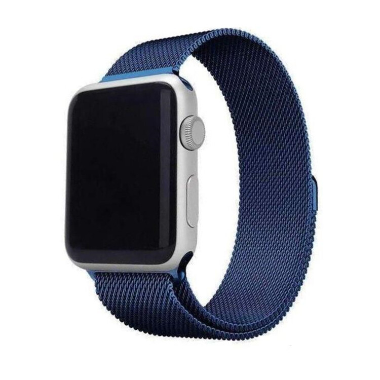 Milanese Stainless Steel Apple Watch Band With Case