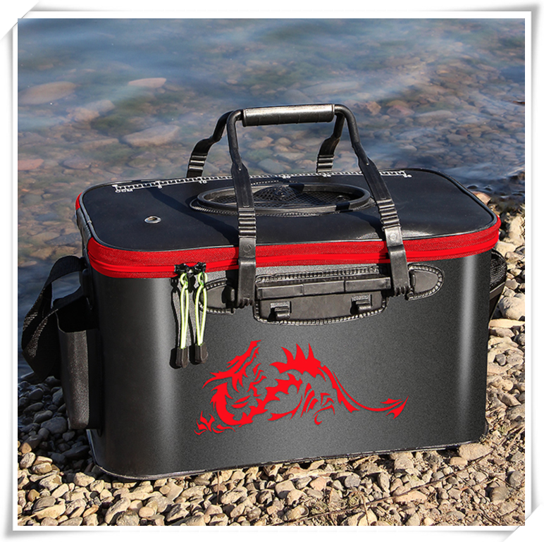 Multifunction Foldable Waterproof Fishing Bucket - Live Fish Container
