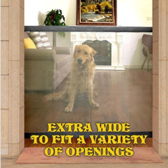 ortable Kids &Pets Safety Door Guard