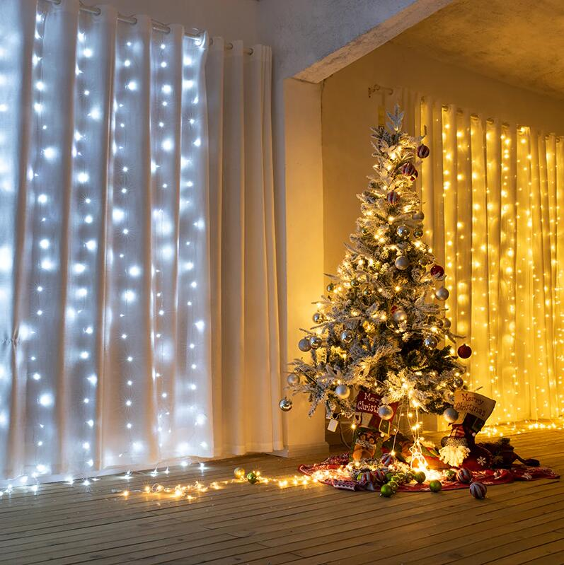 LED Christmas Garland Decoration Outdoor Holiday Lights