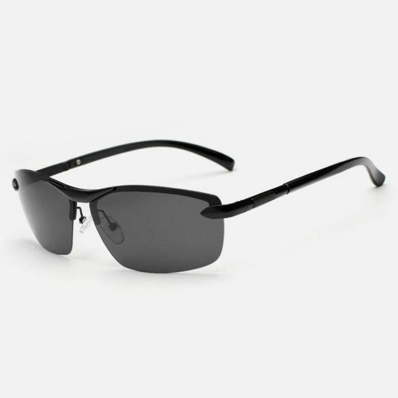 Polarized Photochromic Sunglasses Men's UV400 Driving Transition Lens Sunglasses