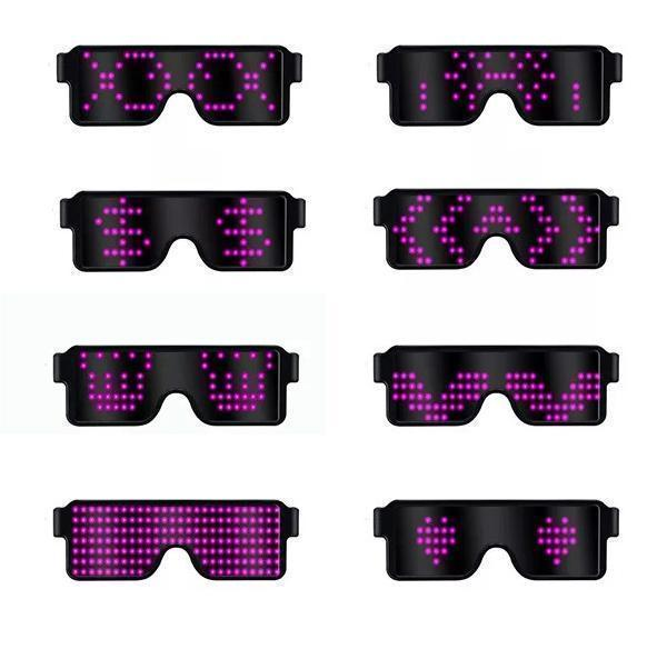 Last day promotion! 2019 LED Glowing Glasses Party