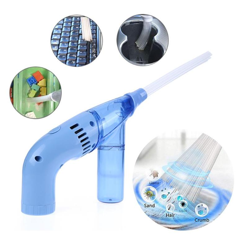 Handheld Flexible Battery Operated Brush Cleaner Dust Remover Universal Vacuum Attachment Cleaning Tools
