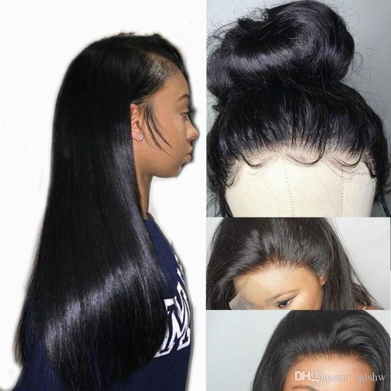 Lace Front Black Wig beeos hair inexpensive real hair wigs