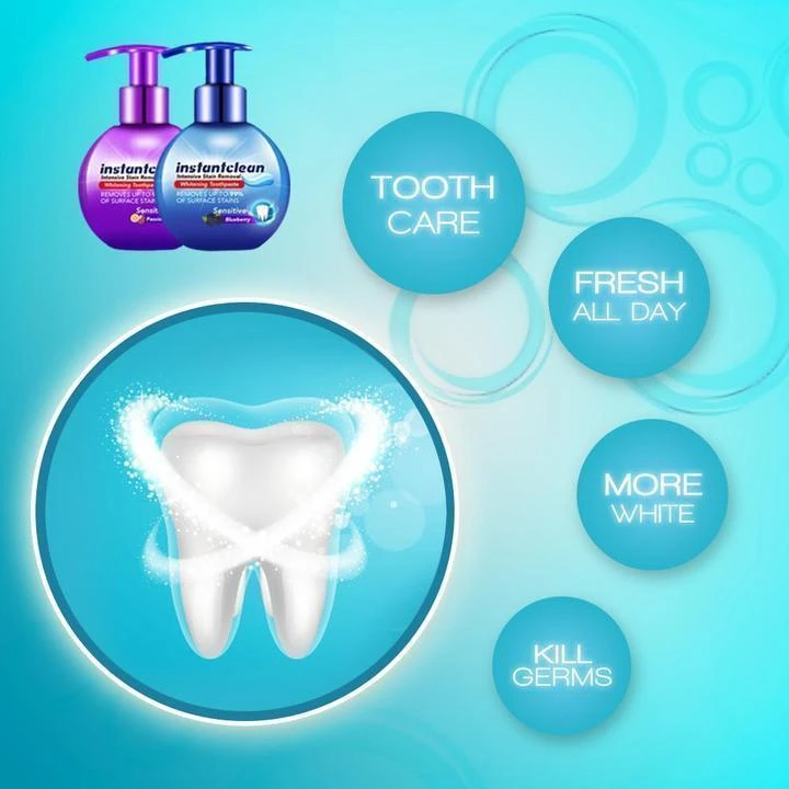 【Last Day 50% Promotion】 - Intensive Stain Removal Whitening Toothpaste