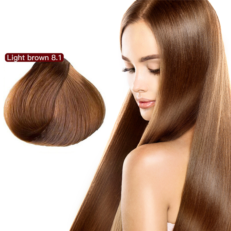 500ml Natural Organic Argan Oil Hair Dye Shampoo