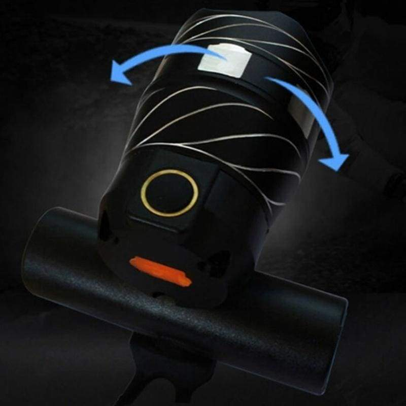 Bicycle Headlights USB Rechargeable XML T6 LED Bike Light Front Light Cycling Head Lamp