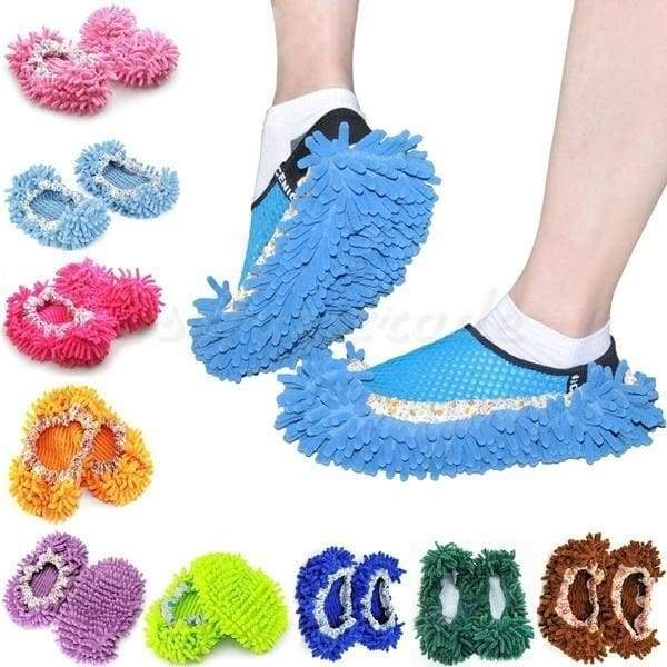 Cleaning brushes dust floor mop house clean shoe cover multifunctional