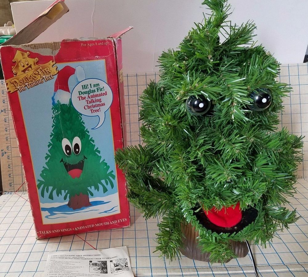 🔥$19.99 Only Last 2 Days🔥Douglas Fir Animated Singing Christmas Tree