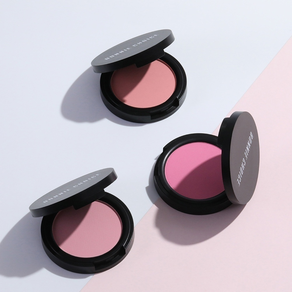 BONNIE CHOICE Compact Pressed Blusher Contouring Makeup Tool