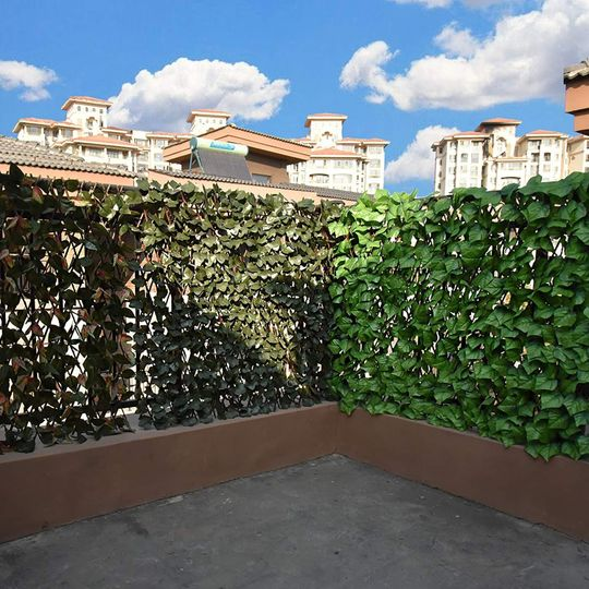 🏡EXPANDABLE FAUX PRIVACY FENCE💅BUY 4 SAVES 10% & FREE SHIPPING🔥