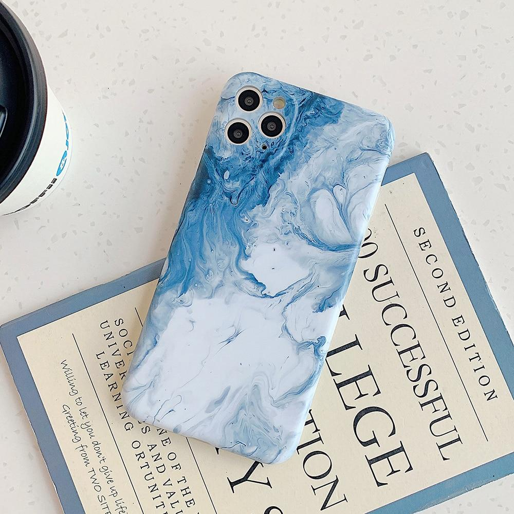 Sea Waves Marble Case