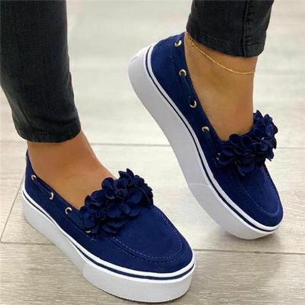 Lemmikshoes Spring Women Flats Shoes Platform Sneakers