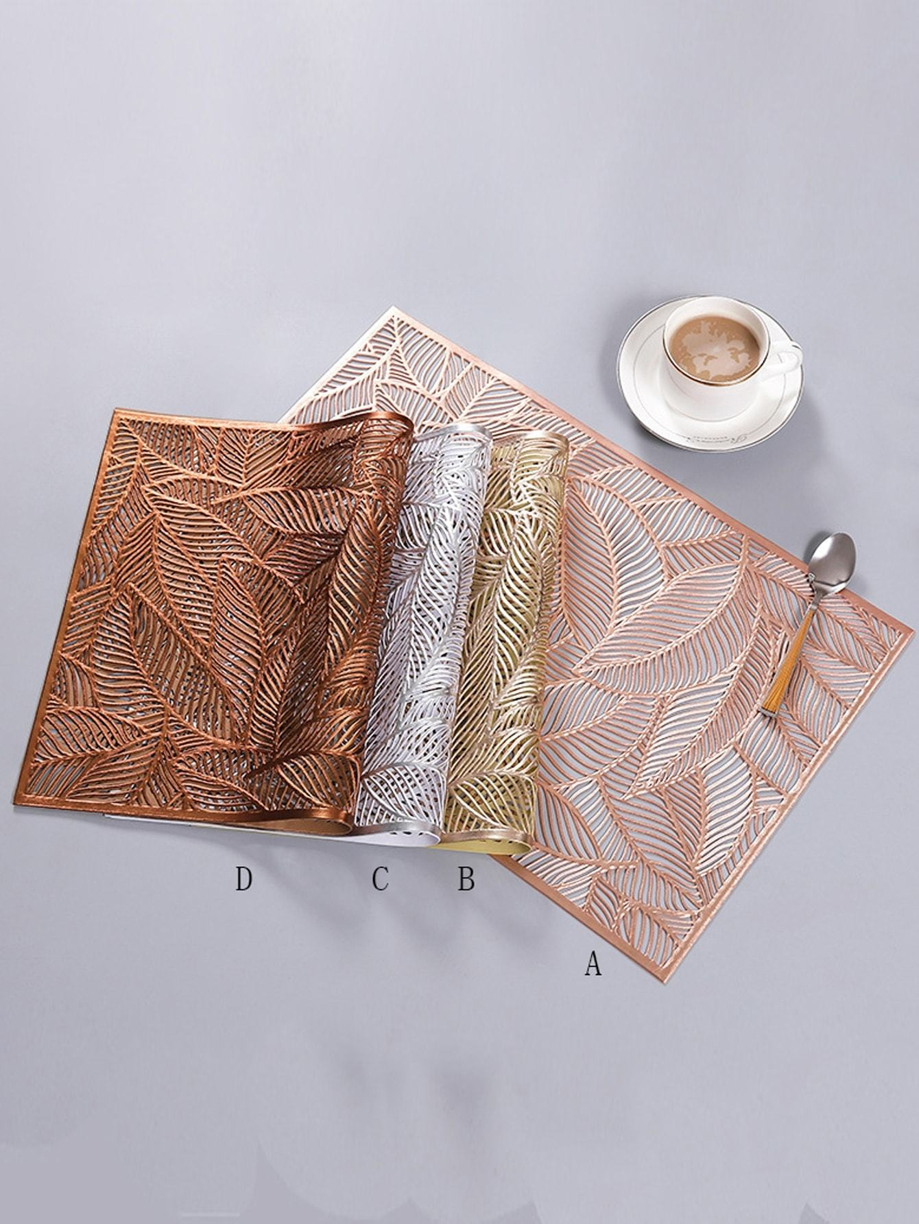 Leaf Hollow Placemat 1pc