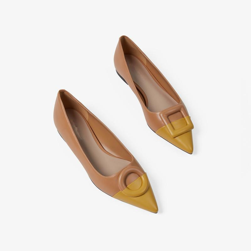 Women's PU Leather with Low Shoes