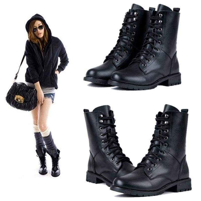 Military Combat Boots For Women