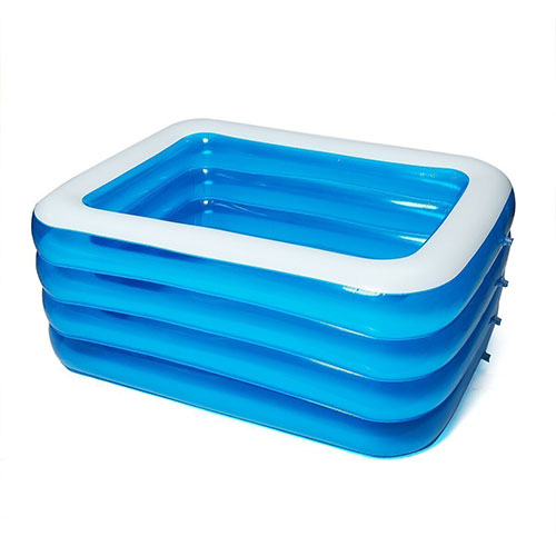 4-layer Folding Inflatable Swimming Pool | Free Shipping