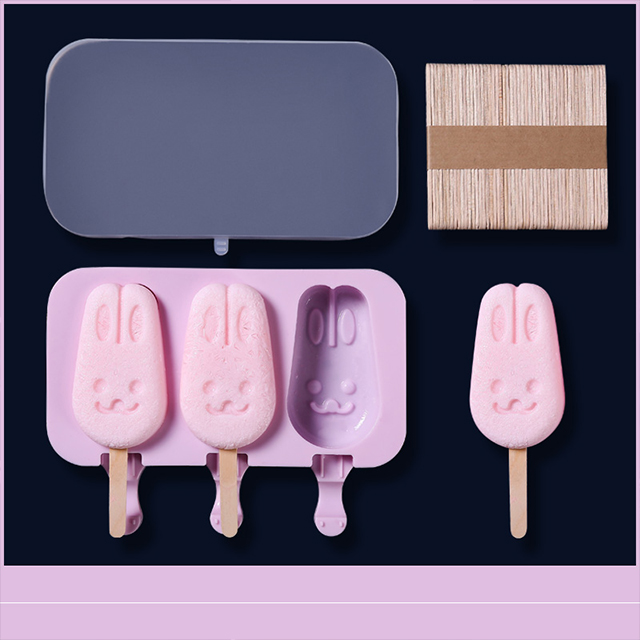 🔥Summer Promotion-2020 NEW DIY Popsicle Molds Homemade With 50 Wooden Sticks