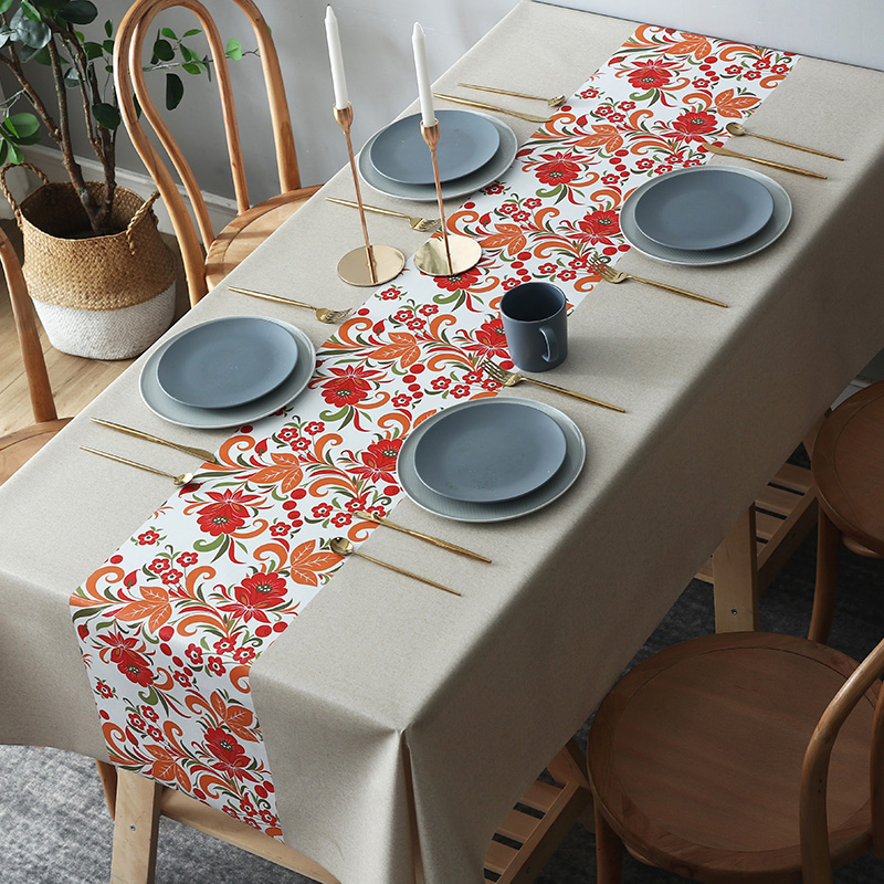 Waterproof and oil resistant  LEEVAN tablecloth