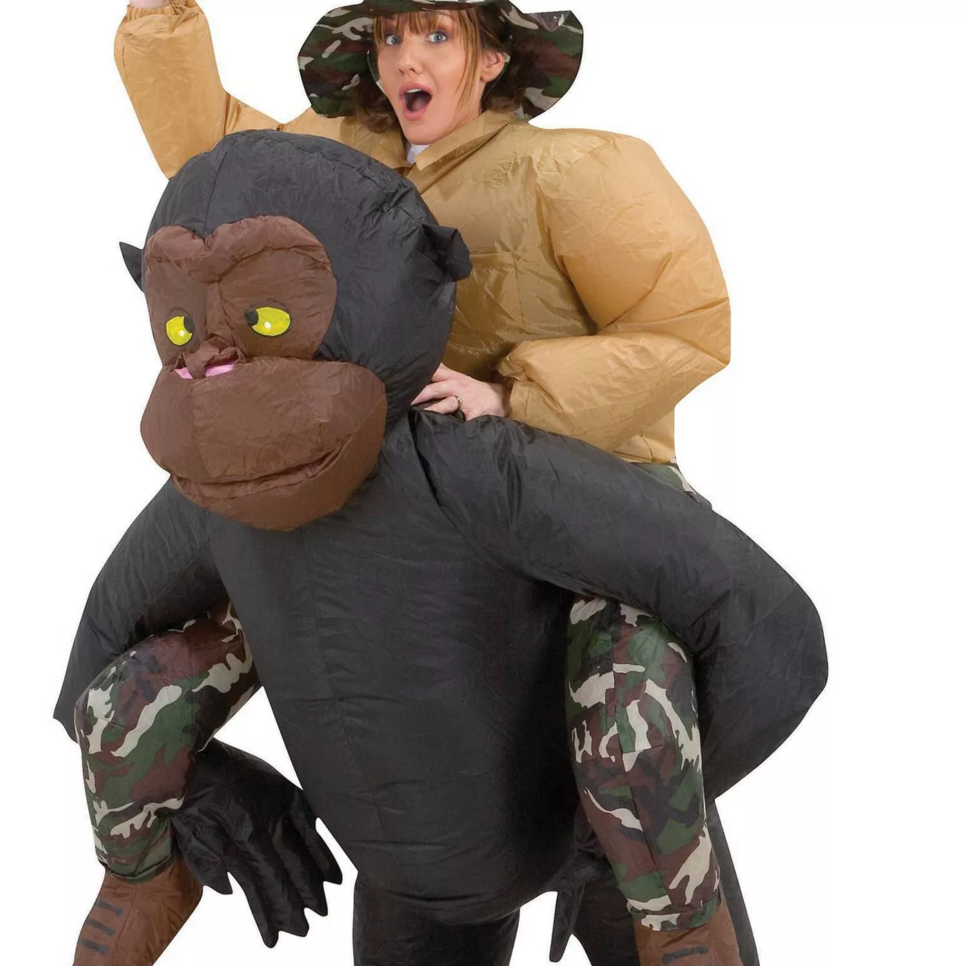 Infltable Gorilla Costume for Adult