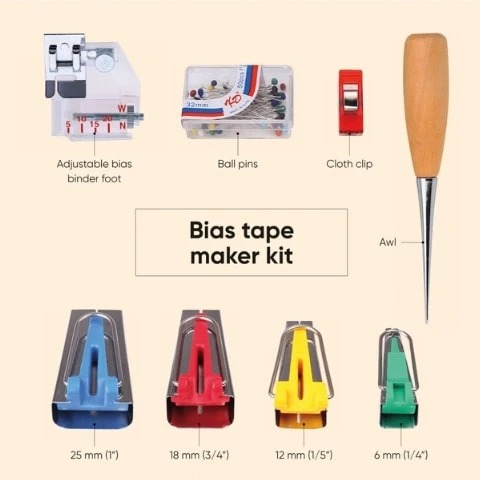 2020 Sewing Bias Tape Maker Kit(11PCs)