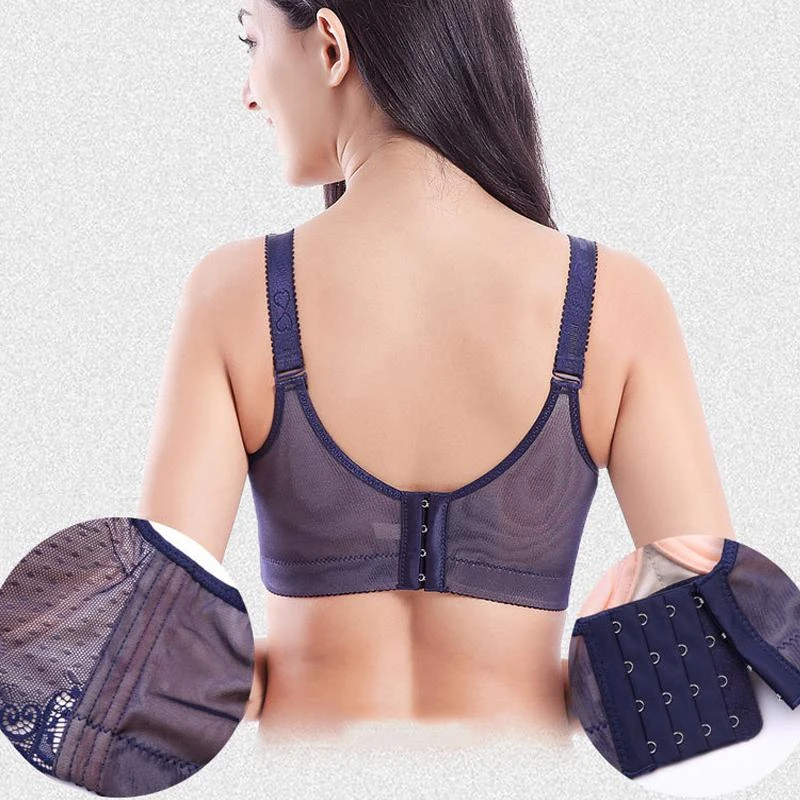 Lace Full-Coverage Bra - Buy 2 Get 10% OFF